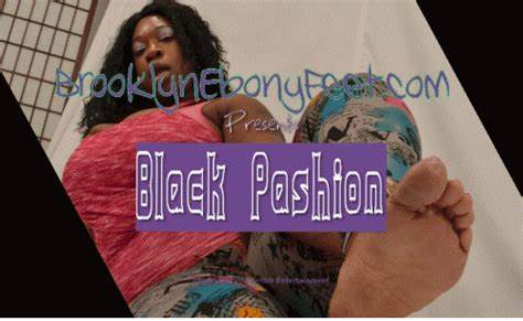 Blackpashion Shows The Bals No Mercy Brooklyn Negress Foot
