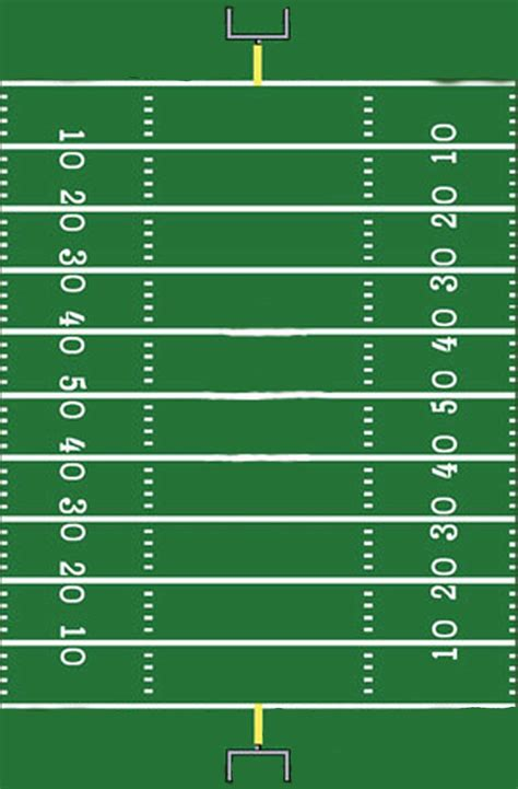 football field template     sign football field