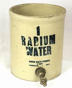 Radium Water Jars  Late 1920s  Early 1930s