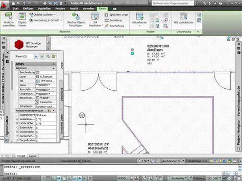autocad architecture tutorial  intelligente raeume