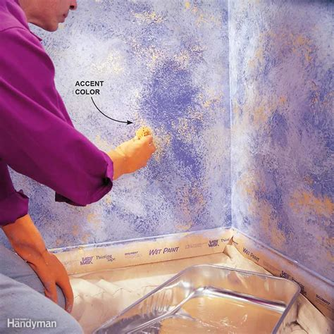 how to sponge paint top tips for choosing paint colors the family handyman