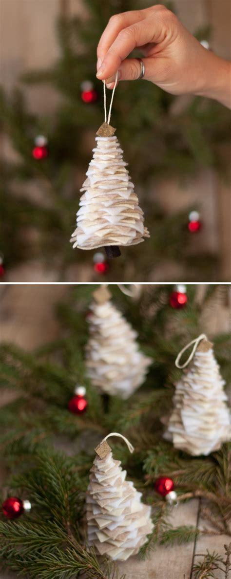 felt christmas tree ornament this heart of mine