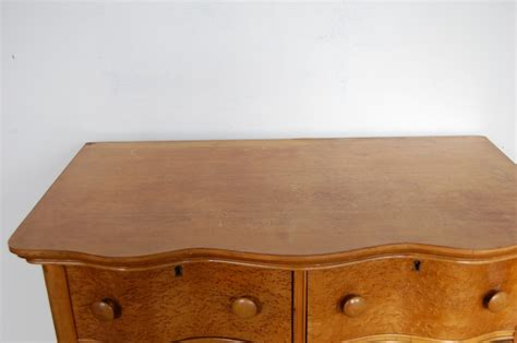 Birdseye Maple Serpentine Dresser by Serpentine Birdseye Maple Burl Highboy Dresser Circa 1890
