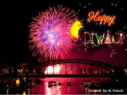 Diwali Fireworks Greetings Card Celebration Cards Greeting