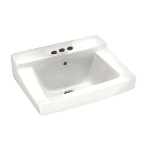 american standard wall hung sink american standard declyn wall mounted bathroom sink in