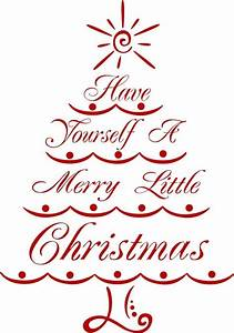 merry christmas tree vinyl wall decal holiday decor With vinyl lettering for christmas ornaments