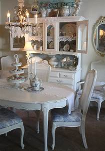 Shabby Chic Dining I Recovered My Dining Room Chairs
