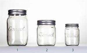 Consol Glass Preserve Jars - Dalgen Packaging