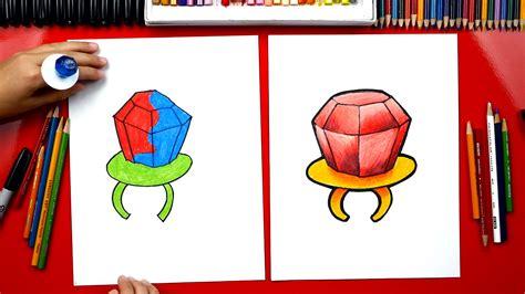 draw  ring pop art  kids hub