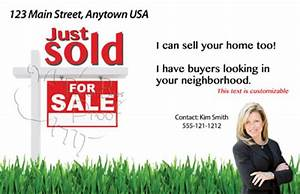 Real Estate Marketing Postcards Flyers & Brochures for