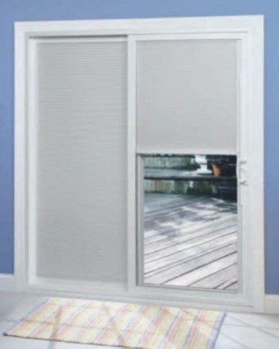 patio door blinds window treatments pinterest window