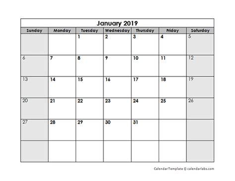 blank monthly calendar  printable templates