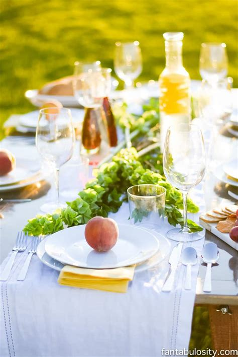 Entertaining Ideas by Pop Up Backyard Dinner Fantabulosity