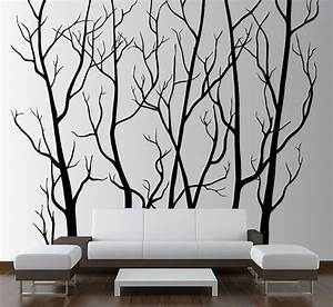 best 20 large walls ideas on pinterest hallway wall With best brand of paint for kitchen cabinets with large birch tree wall art