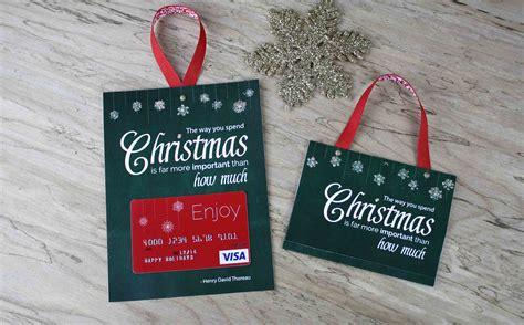 printable gift card holder spend christmas