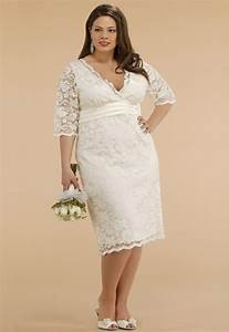 simple plus size wedding dresses with sleeves dresses trend With plus size simple wedding dresses