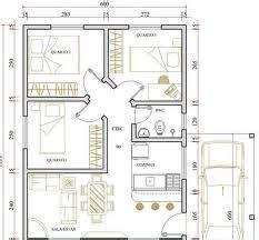 planta de casa  quartos  small house plans bedroom