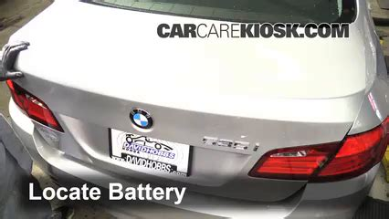 Battery Replacement 20102016 Bmw 535i  2011 Bmw 535i 3