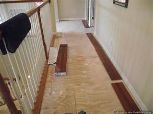 Installing laminate flooring in hallways do it yourself for How to lay laminate flooring through a doorway