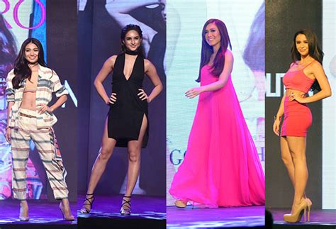 Nadine Lustre Coleen Garcia Rachelle Ann Go and Yassi Pressman share how to own your look ...