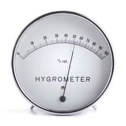 Hygrometer Measures Humidity