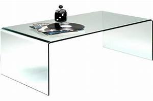 Table Basse En Verre Design : table basse en verre bahia declikdeco ~ Teatrodelosmanantiales.com Idées de Décoration