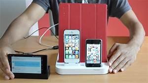 Ladestation Für Handy : ladestation f r mehrere smartphones und tablets ~ Watch28wear.com Haus und Dekorationen