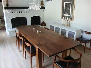 Unique Decorative Bright Dining Room Table Combined With
