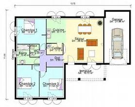 hd wallpapers plan maison 100m2 plain pied - Plan Maison 100m2 Plein Pied