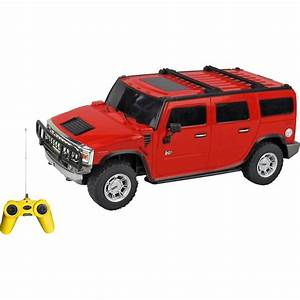 Toy House 1:24 Hummer H2 Suv Remote Control Car - Red Best