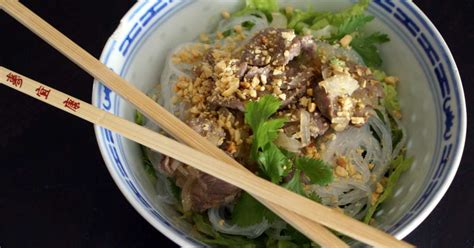 cuisine vietnamienne recette bo bun recette de bo bun de la cuisine vietnamienne