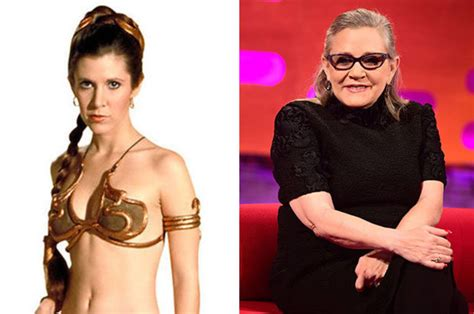 carrie fisher   star wars actress  moments