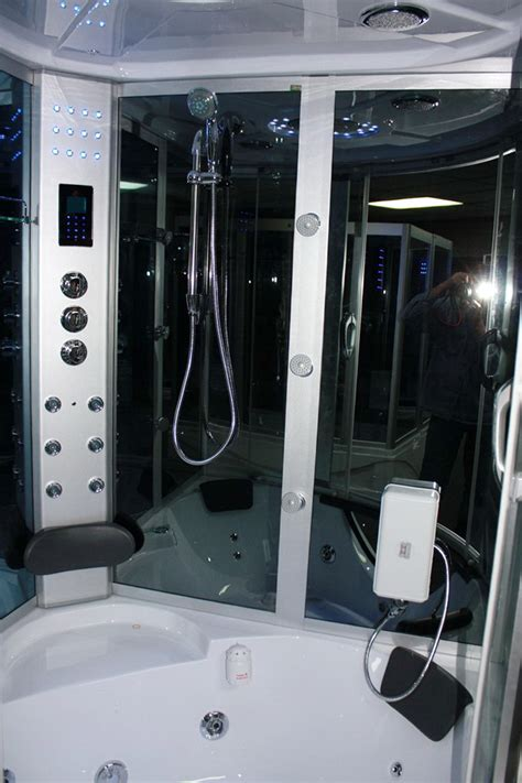 lsws hd heavy duty large corner steam shower room
