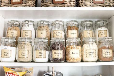 pantry labels ideas  pinterest pantry storage