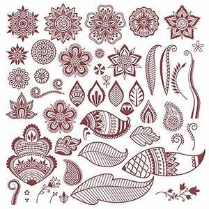 Henna Tattoo Schablonen : anleitung henna tattoo selber machen inkl muster motive womz ~ Frokenaadalensverden.com Haus und Dekorationen