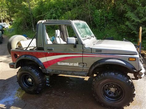 1987 Suzuki Samurai For Sale by For Sale Suzuki Samurai With A 12a Engine Depot