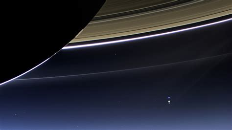 The First Glimpse Earth Photographed Cassini