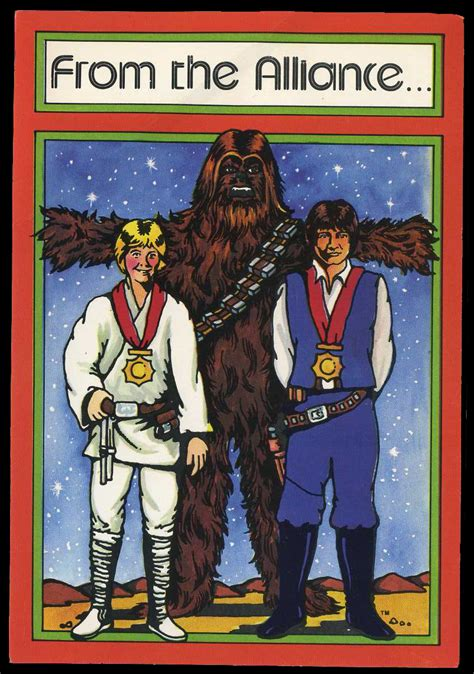 Star wars christmas cards funny christmas cards christmas greetings christmas humor holiday cards merry christmas christmas star christmas wishes holiday fun. Star Wars Christmas cards (1977) - Fonts In Use