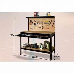 etabli rangement outillage bricoleur atelier achat With meuble de rangement bricolage