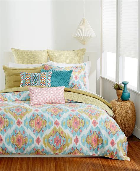 34101 bar iii bedding bar iii kaya king comforter blue coral multi msrp