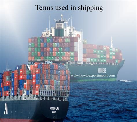 bureau export terms used in shipping such as cairns cabotage