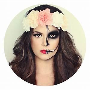 Maquillage Squelette Facile : maquillage halloween moiti belle moiti squelette ~ Dode.kayakingforconservation.com Idées de Décoration