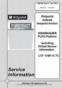 Hotpoint Ltf 11m113 7c Dishwasher Service Manual
