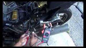 Motorcycle Starter Relay Test