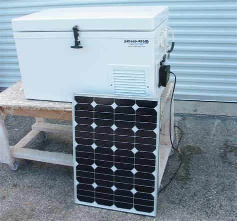 frigidaire refrigerator solar refrigerator freezer frigid rigid
