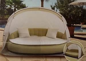 sonneninsel mit strandmuschel airlounge aufblasbare With französischer balkon mit garten liegeinsel