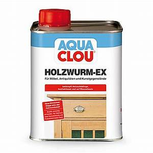 Holzwurm Ex Test : aqua clou holzwurm ex holzzerst rende insektenlarven wie holzwurm hausbock ~ Orissabook.com Haus und Dekorationen