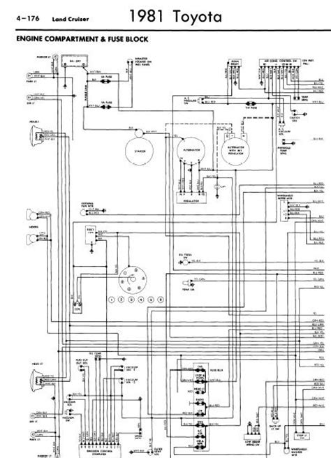repair manuals toyota land cruiser  wiring diagrams