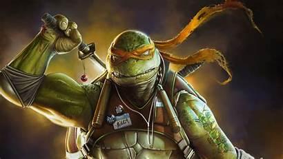 Ninja Turtle Turtles Mutant Teenage 4k Artwork