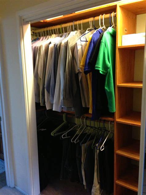 ana white custom closet organizer based   piece